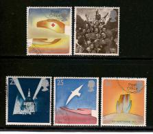 UK, 1995, Cancelled Stamp(s) , EUROPA Peace And Freedom,  1571-1575,  #14591 - 1952-.... (Elizabeth II)