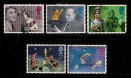 UK, 1996, Cancelled Stamp(s) , Children's Television,  1652-1656,  #14600 - 1952-.... (Elizabeth II)