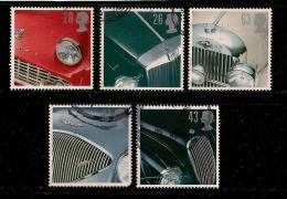 UK, 1996, Cancelled Stamp(s) , Classic Sports Cars,  1657-1661,  #14601 - 1952-.... (Elizabeth II)