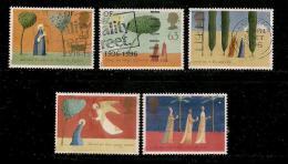 UK, 1996, Cancelled Stamp(s) , Christmas,  1662-1666,  #14602 - 1952-.... (Elizabeth II)