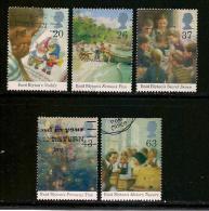UK, 1997, Cancelled Stamp(s) , Enit Blyton,  1709-1713  #14608 - 1952-.... (Elizabeth II)