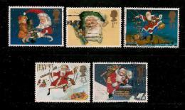 UK, 1997, Cancelled Stamp(s) , Christmas,  1714-1718  #14609 - 1952-.... (Elizabeth II)