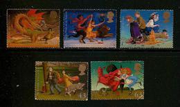 UK, 1998, Cancelled Stamp(s) , Children's Fanasy Novels,  1758-1762, #14616 - 1952-.... (Elizabeth II)