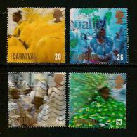 UK, 1998, Cancelled Stamp(s) , EUROPA Festivals,  1763-1766, #14617 - 1952-.... (Elizabeth II)