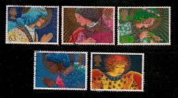 UK, 1998, Cancelled Stamp(s) , Christmas,  1772-1776 #14619 - 1952-.... (Elizabeth II)