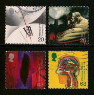 UK, 1999, Cancelled Stamp(s) , Millenium Series The Inventors,  1777-1780 #14620 - 1952-.... (Elizabeth II)