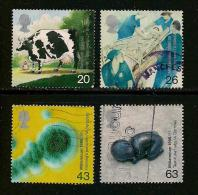 UK, 1999, Cancelled Stamp(s) , Millenium Series The Travellers,  1782-1785, #14621 - Used Stamps