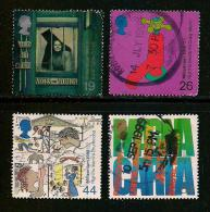UK, 1999, Cancelled Stamp(s) , Millenium Series The Citizens,  Sg1409-1412, #14626 - 1952-.... (Elizabeth II)
