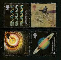 UK, 1999, Cancelled Stamp(s) , Millenium Series The Scientist,  Sg1413-1416, #14627 - 1952-.... (Elizabeth II)