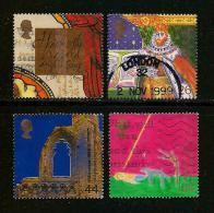 UK, 1999, Cancelled Stamp(s) , Millenium Series The Christians,  Sg1425-1428, #14630 - 1952-.... (Elizabeth II)