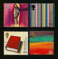 UK, 1999, Cancelled Stamp(s) , Millenium Series The Artists,  Sg1429-1432, #14631 - 1952-.... (Elizabeth II)