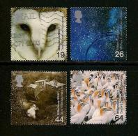 UK, 2000, Cancelled Stamp(s) , Millenium Series The Projects 1,  Sg1438-1441, #14632 - 1952-.... (Elizabeth II)