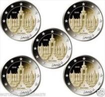 Duitsland 2016  5 X 2 Euro Commemo 5 Letters- 5 Ateliers   Saksen Dresden-Saxe Dresden  UNC Uit De Rol  UNC Du Rouleaux - Allemagne