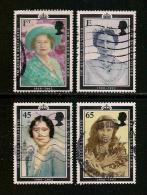 UK, 2002, Cancelled Stamp(s) , Commemoriam Queen Mother ,  Sg1587 +, #14209 - 1952-.... (Elizabeth II)