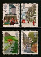 UK, 1985, Cancelled Stamp(s) , Royal Mail Public  ,  1035-1038, #14215 - 1952-.... (Elizabeth II)