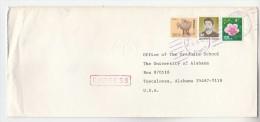 EXPRESS Air Mail  SOUTH KOREA Multi Stamps COVER To USA - Korea, South
