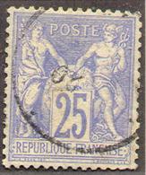 France 72, Used, VF, Sound (fr072-8 Mich 63l        .    [16-EG - 1876-1878 Sage (Type I)