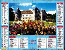 ALMANACH DES P.T.T 1992 (54) - Complet ** ST GERMAIN DE LIVET (14) - MONFORT (24) **Calendrier * JEAN LAVIGNE * - Calendriers