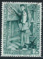 Italia 1955 Usato - Istruzione Professionale - 1946-.. République