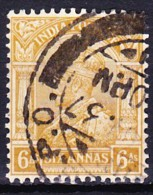 INDE ANGLAISE - EMPIRE 1934-35 YT N° 135A Obl. - Inde (...-1947)