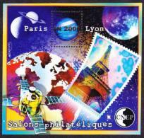 """CNEP N°  31 De 2000 Bloc """" Salon Philathéliques Paris Lyon - CNEP"""