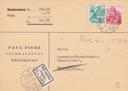 Nachnahme - Mention Nicht Eingelöst Impayé - Lettres & Documents