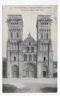 (RECTO / VERSO) CAEN EN 1914 - N° 70 - FACADE DE L' EGLISE DE LA TRINITE - ABBAYE AUX DAMES - BEAU CACHET - CPA - Caen