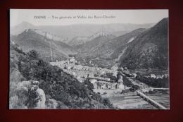 DIGNE - Vue Générale Et Vallée Des Eaux Chaudes - Digne