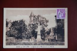 LE CAYLAR - L'Eglise Et Le Monument Aux Morts - Andere Gemeenten