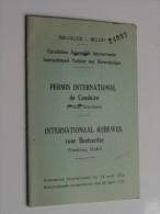 PERMIS International De CONDUIRE / Int. RIJBEWIJS Bruxelles 1953 N° 24007 ( BOON Woluwe / Zie Foto Voor Détail ) ! - Old Paper