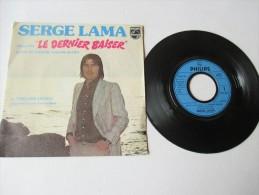 SERGE  LAMA    ---   LE  DERNIER  BAISER  - Extrait De La Bande Originale Du Film    ---   2 Photos - Filmmusik