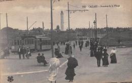 CPA 62 CALAIS AVENUE DE LA PLAGE (cliché Pas Courant - Calais