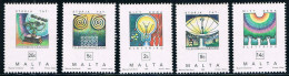 MT0141 Malta 1995 5 New Power Communication - Malta