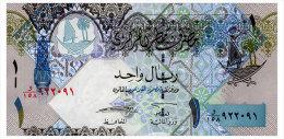 QATAR 1 RIYAL ND(2008) Pick 28 Unc - Qatar