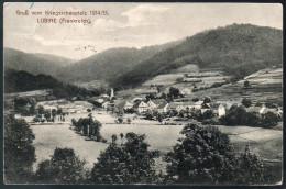 2055 - Sans Frais De Port - Carte Postale Ancienne - Lubine Théâtre De Guerre De 1914 Fieldpost 1 WK - Saint Die