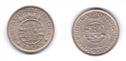 India Portuguese 1 Escudo 1959 - Inde