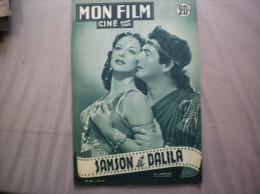 MON FILM N°283 DU 23-1-52 HEDY LAMARR ET VICTOR MATURE DANS SAMSON ET DALILA - Kino