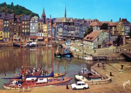 HONFLEUR - La Lieutenance, Le Bassin Et Le Quai Sainte-Catherine -  (10 14 0048) - - Honfleur