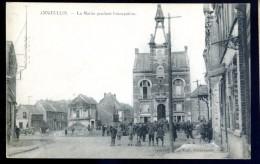 Cpa Du 59 Annoeullin  -- La Mairie Pendant L' Occupation    LIOB18 - Zonder Classificatie