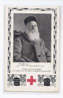 CPA GENEVE - Henry DUNANT Créateur De La CROIX ROUGE - CP Tombola Section Genevoise TB Oblitération 1914 - GE Genève