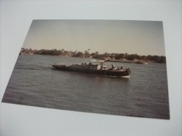 NAVE SHIP BARCONE IN VIAGGIO LUOGO DA DEFINIRE - Chiatte, Barconi