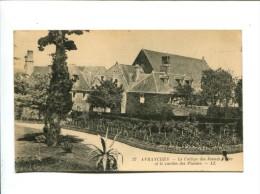 CP - Avranches (50) College De Jeunes Filles Et Le Jardin Des Plantes