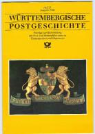 Württembergische Postgeschichte,Heft 25,Ausgabe 1988,Post,Fernmeldewesen,Tübingen,Marbach, - Libri, Riviste, Fumetti