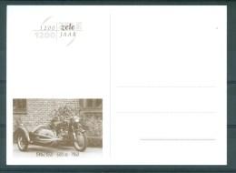 """BELGIE - Briefkaart """"1200 JAAR ZELE"""": Moto BMW R60 - 600 CC - Bouwjaar 1960 - Cartes Illustrées"""