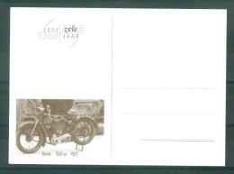 """BELGIE - Briefkaart """"1200 JAAR ZELE"""": Moto TERROT - 350 CC - Bouwjaar 1927 - Cartes Illustrées"""