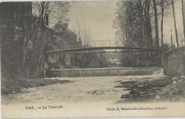 Hal.  -   Pont De La Senne.  -   1906  Naar Borgerhout - Halle