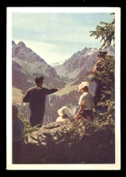 Kazakh SSR, Alma-Ata Gorge In The Mountains Ala-tau / Postcard Circulated - Kazakhstan