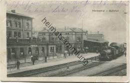 Herbesthal - Bahnhof - Verlag H. K. Herbesthal - Feldpost Gel. 1914 - Lontzen