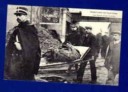 CARTES D'AUTREFOIS    Réimpression   La Catastrophe De Courrières. Les Restes D'une Victime. 1906 - Catastrofi
