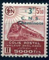 FRANCE COLIS POSTAUX 1942 N° YVERT N° 195  DENTELE NEUF AVEC TRACE DE CHARNIERE - Nuovi